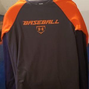 Underarmor boys baseball shirt